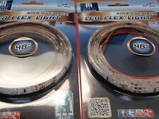 LED FLEX STRIP LIGHT BLUE LED51954DP 48 INCH CAN BE CUT TO LENTH ROPE 2 PAC SALE