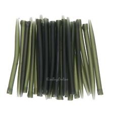 30pcs 53mm Dark Matter Anti Tangle Sleeves Connect with Hook Carp Fishing Tackle
