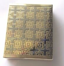 "Dunhill Cigarette Case 14kt Two Tone Art Deco  ""PERFECT CONDITION"" ""SEE PHOTOS"""