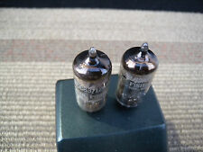 2x fisher 12ax7/ecc83 short plate with tested good. great Britain