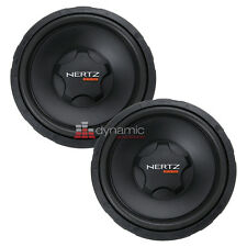 "Two (2) HERTZ ES 300.4 Car Stereo 12"" Energy-Series 4-Ohm Car Subwoofers New"