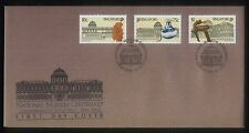 Singapore Stamps First Day Cover FDC -1887-1987 National Museum Centenary