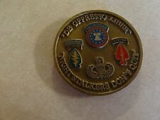 CHALLENGE COIN OLDER PRIVATE COLLECTION SPECIAL OPERATIONS RECRUITING COMPANY SF
