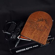 ORTEGA Horsekick Horse Kick Pro Digital Percussion Stomp Box 5 Sampled Sounds