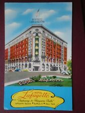 POSTCARD USA GATEWAY TO NIGARA FALLS - HOTEL LAFAYETTE