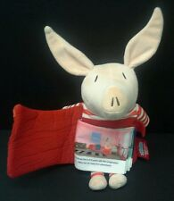 Olivia The Pig Zoobies Book Buddies stuffed plush Doll & soft cloth story book