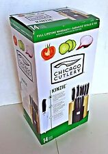 Chicago Cutlery Kinzie 14pc Shift Block Set NEW