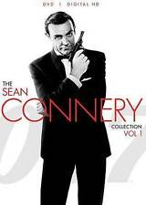 007 Sean Connery Collection Vol 1 NEW DVD disc/case/cover & slip-no digital copy
