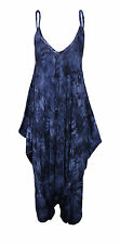 Womens Cami Jumpsuit Lagenlook Romper Baggy Harem Playsuit Dress lot Plus Size