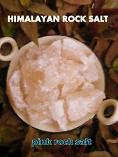 NATURAL ROCK STONE SALT Himalayan Pink Salt 100% natural organic Reiky energised