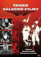 Atentat / Riders In The Sky / Zbrane pro Prahu 3 Czech WW2 war movies box set