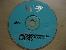 Dreamweaver V 4.0 Fireworks V 4.0 Studio for Mac