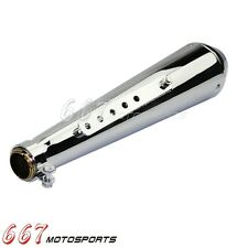 New Exhaust Muffler Reverse Cone Megaphone For Harley Cafe Racer Bobber Custom
