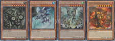 Yugioh Dragon Ruler Set - Blaster + Redox + Tempest + Tidal - Near Mint