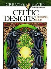 Adult Coloring: Creative Haven Celtic Designs Coloring Book by Carol Schmidt...