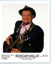 Vintage HOBO BOXCAR WILLIE Publicity Photo COUNTRY MUSIC Grand Ole Opry