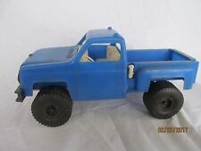 Processed Plastic Co. Chevrolet Chevy truck blue  restoration