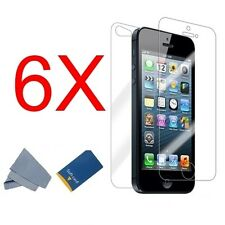 6X FULL Body Front+Back Screen Protector Guard Skin Shield for Apple iPhone 5S 5