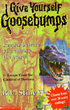 Escape from the Carnival of Horrors (Give Yourself Goosebumps), R.L. Stine