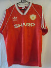 Manchester United 1988-1990 Home Football Shirt Size Small /10788 Man Utd