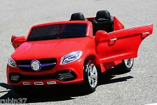 24 VOLTS BATTERY OPERATED 2 SEATER RIDE ON ELECTRIC TOY CAR REMOTE CONTROL  RED