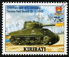 WWII 1943 BATTLE OF TARAWA - C Company SHERMAN TANK Stamp