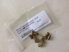 NEW MADE IN USA BRASS THREADED INSERT 6-32 SIZE PACKAGE OF 10