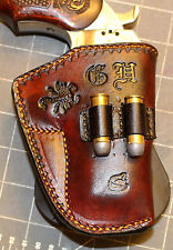 Custom Bond Arms Paddle Holster.  Hybrid.  Leather and G code