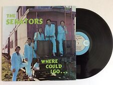 THE SENATORS QUARTET Where Could I Go... BILL SHAW vinyl LP NM Rick Fair