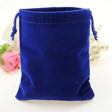 10Pcs Velvet Bags Favor Wedding Pouches Jewelry Packaging Bag Gift Bag 7cm*5cm