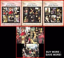 PRADO MUSEUM PAINTINGS fr.GRENADA 2000  x3 S/S + 3 M/S ** MNH  @@PERFECT @@