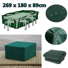 Rectangular Outdoor Garden Furniture Cover Waterproof For Patio Table Chair New