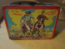 Vintage The Lone Ranger and Tonto Lunch Box