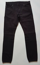 55DSL-By-DIESEL-Mens-TROUSERS-Size-W32 L32  COMFORT FIT  BLACK
