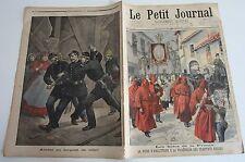Le petit journal 1898 N° 388 Reine d'Angleterre pénitants rouges