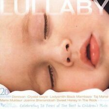 CD w/ 20 Lullaby Songs by 20 Artists - Lullaby Collection, New Still Sealed