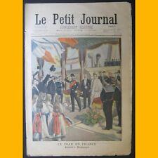 LE PETIT JOURNAL Supplément illustré 29 septembre 1901