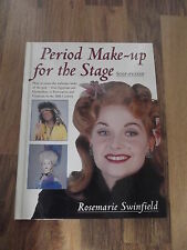 Period Make-up for the Stage, Step by Step, Rosemary Swinfield, englisch