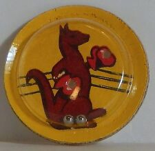 VINTAGE PALM MAGIC PUZZLE KANGAROO BOXING 1950 CRACKER JACK