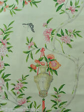 Designers Guild Curtain Fabric ROSA CHINENSIS 3.35m Peony Royal Collection 335cm