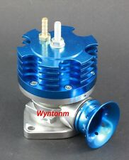 Turbo Blow Off Valve Bypass DV BOV + Stainless Steel Weld Flange Blue