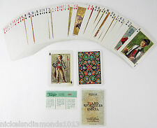 1967 TRAJES REGIONALES DE ESPANA 52+2 DECK PLAYING CARDS FOUNIER VITORIA