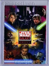 STAR WARS GALAXY SERIES 4 SET OF 120 CARDS