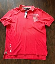 POLO RALPH LAUREN Trail Guide Canyon Patch Indian Head Chief Shirt Size XL