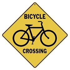 Bicycle Crossing Sign NEW 12X12 Bike