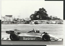 RICCARDO PATRESE #29 WARSTEINER ARROWS FORD A3 1980 ORIGINAL PERIOD PHOTOGRAPH