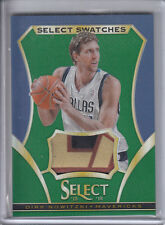 2013-14 SELECT SWATCHES DIRK NOWITZKI JERSEY PATCH PRIME PRIZM REFRACTOR SP /5
