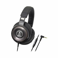 Audio-Technica ATH-WS1100iS Solid Bass Hi-Res Over Ear Headphones (black)