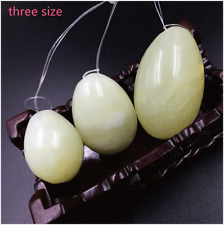 set of 3 Eggs Jade Kegel Exercise Weights Pelvic Muscle Vaginal Tightening Balls