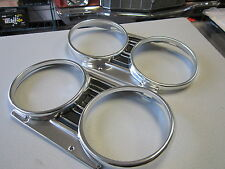 1967 67 CHEVELLE MALIBU EL CAMINO NEW PAIR OF HEADLIGHT BEZELS